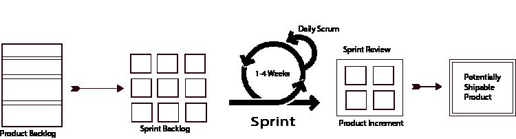 Sprint in a Scrum