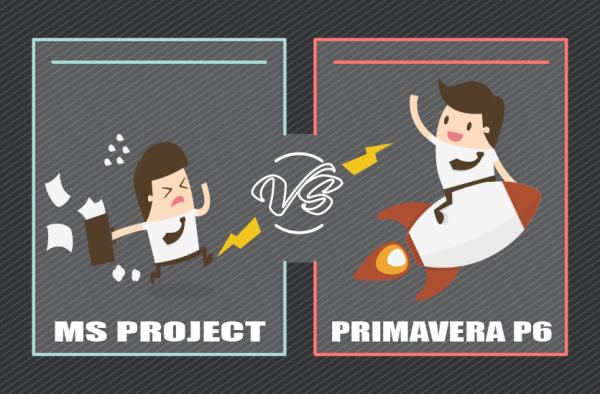 Primavera P6 VS MS Project   A Clear comparison